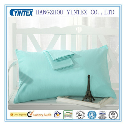 Custom 100% Cotton Pillow Cases for Hotel Pillow Cover