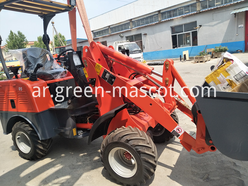 Battery wheel loader CE ROPS cabin