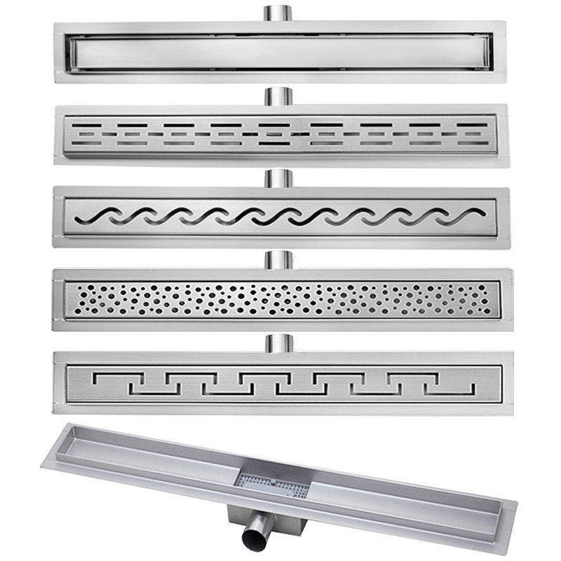 Anti-foul Stainless Steel Outdoor Slot Linear Floor Drain