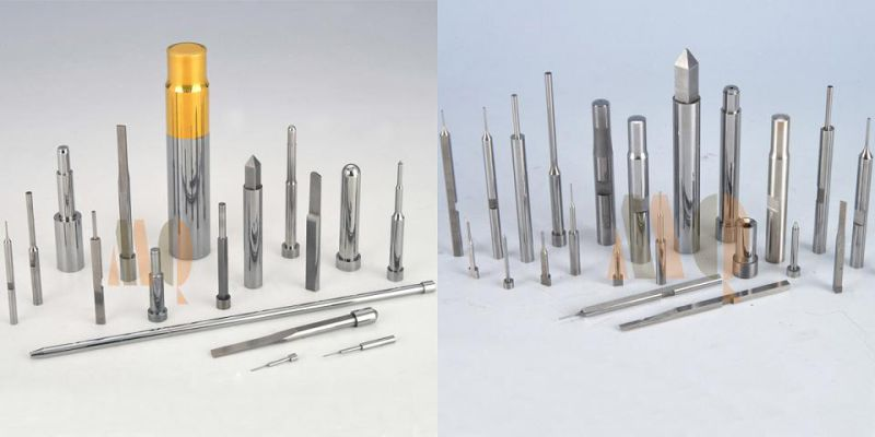 DIN Standard Piercing Punch Pin with Tin Coating