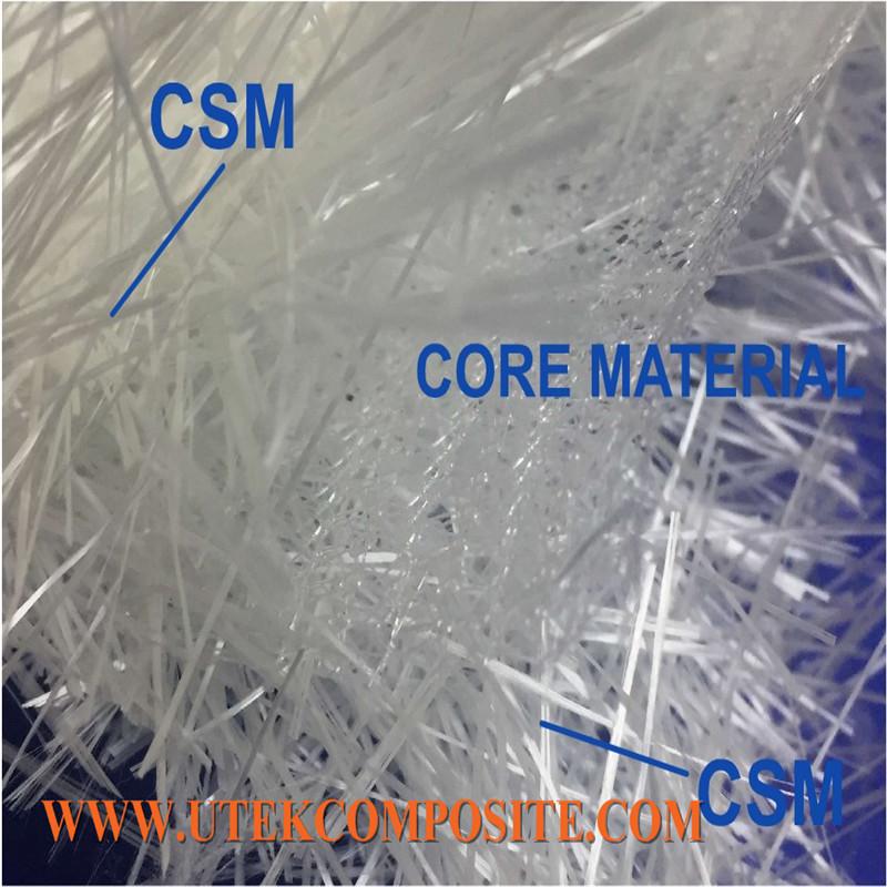 Rapid Flow Speed Fiberglass Flow Medium Core Mat