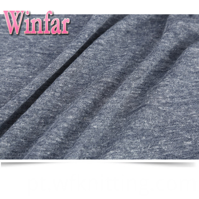 Neps Snow Knit Fabric