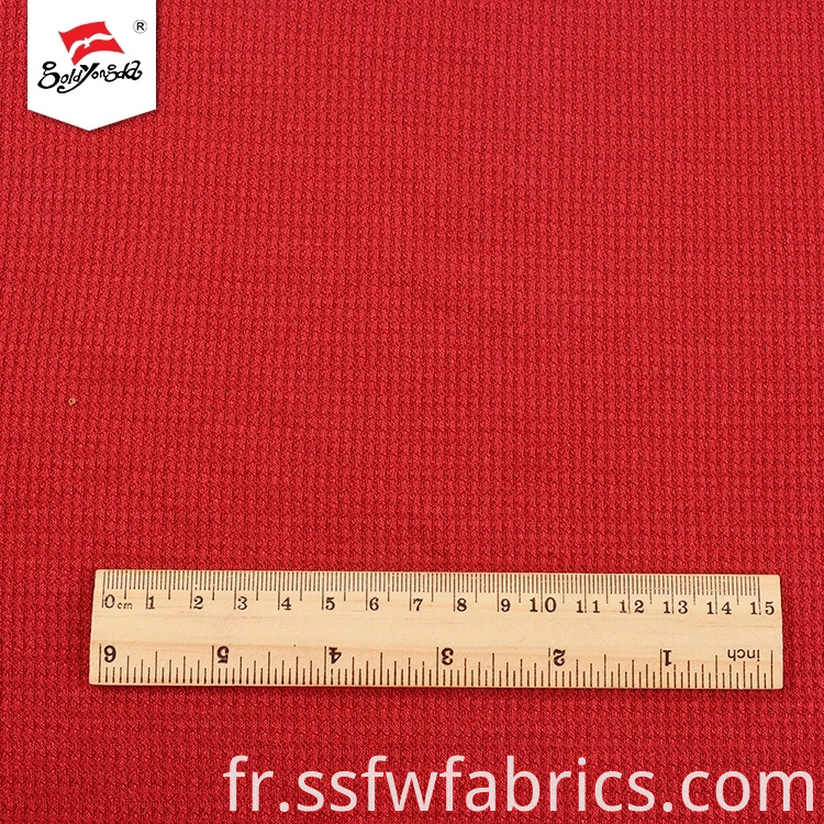 Red Solid Color Dyed Fabric