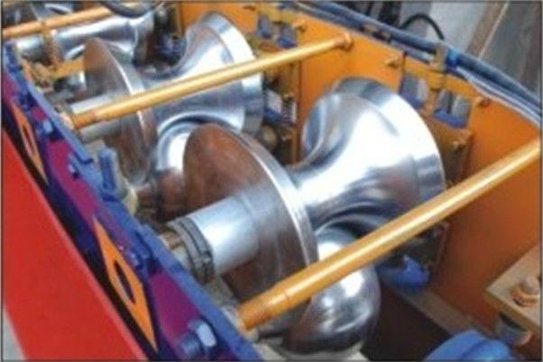 312 Cap Ridge Roll Forming Machine