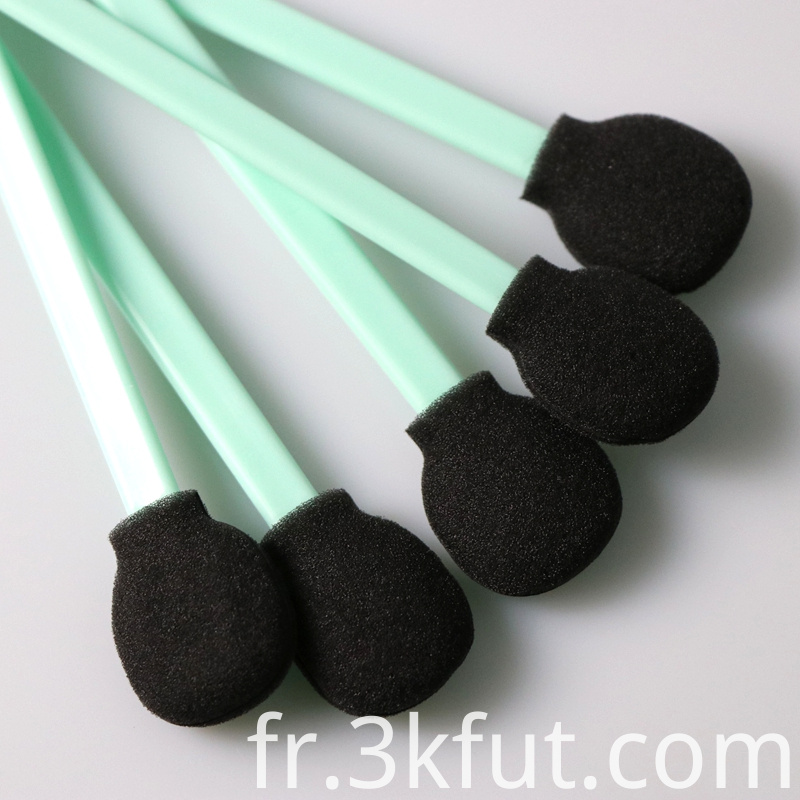Cleanroom Black Foam Swab
