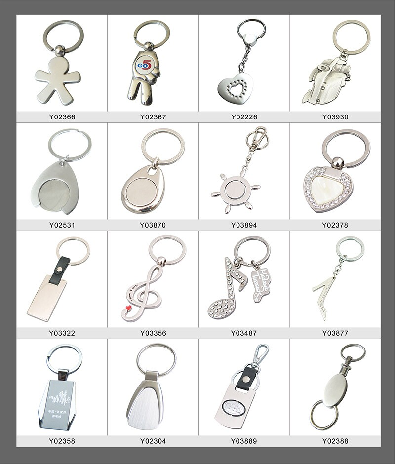 Hot Sale Metal Opener Key Chain Customized Bottle Opener