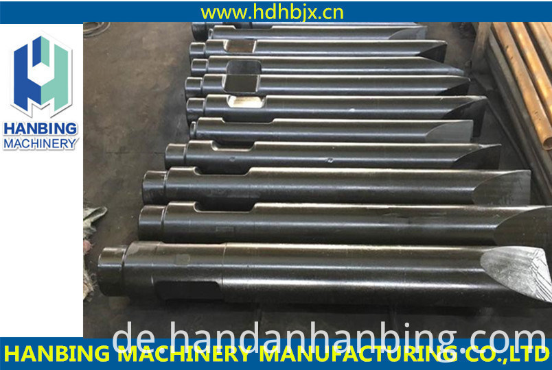 Hydraulic Moil Point Chisel