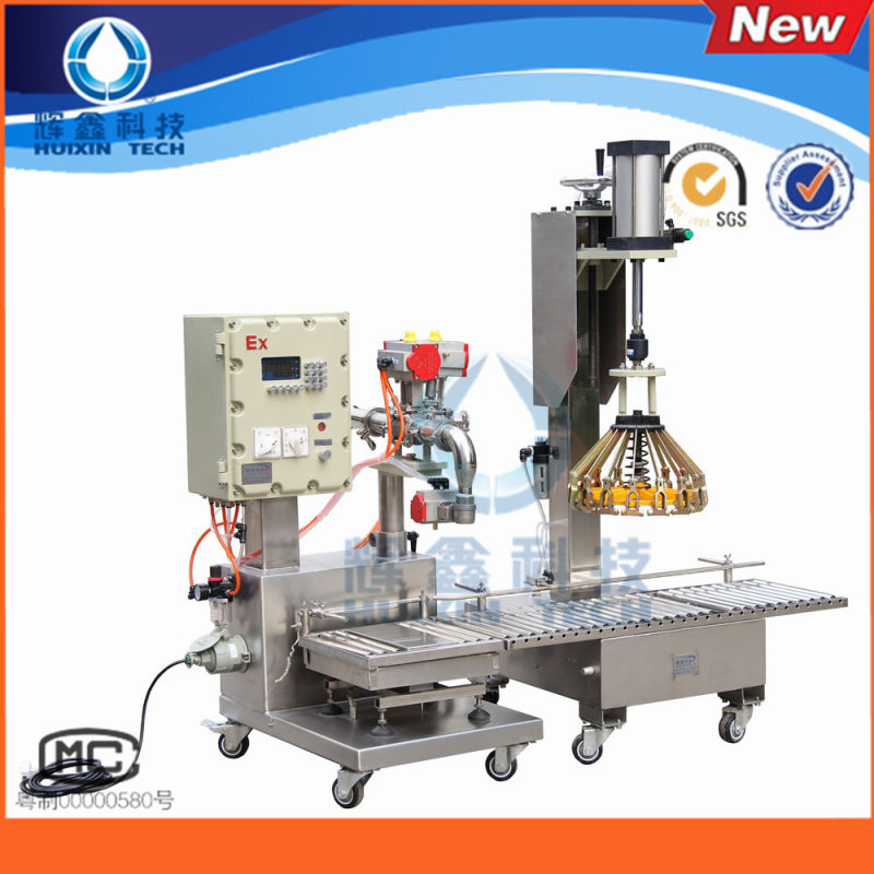 Chemical Liquid Weighing Filling Machine