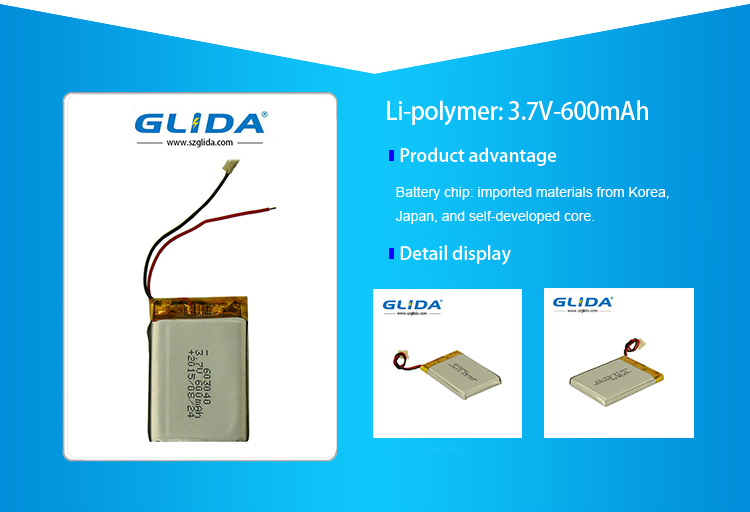Rectangular Lithium Ion Battery