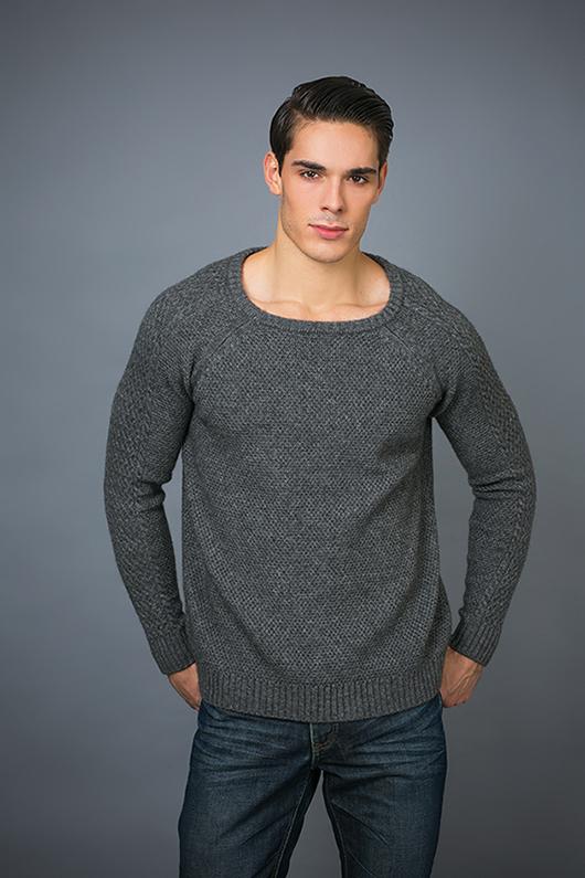 Men's Fashion Cashmere Sweater 17brpv125