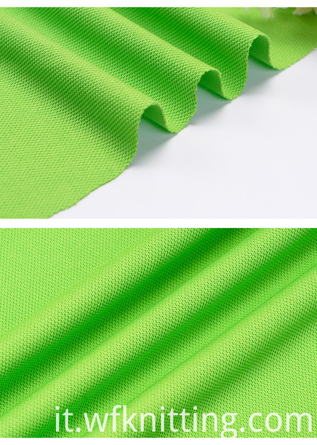 Customize Interlock Pique Fabric