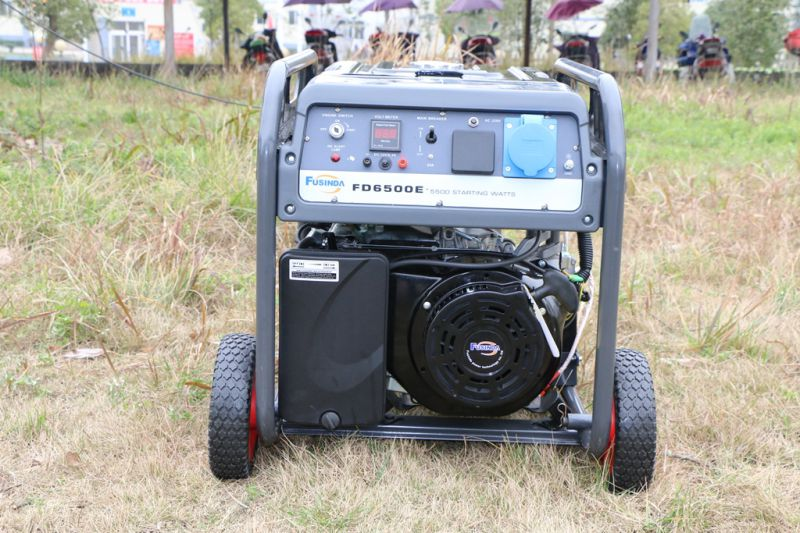 5kVA Key Start Portable Gasoline Generator for Home Standby with Ce/CIQ/ISO/Soncap