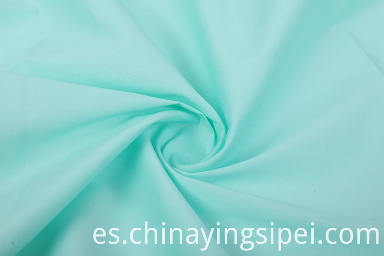 Factory sale solid nylon cotton woven fabric