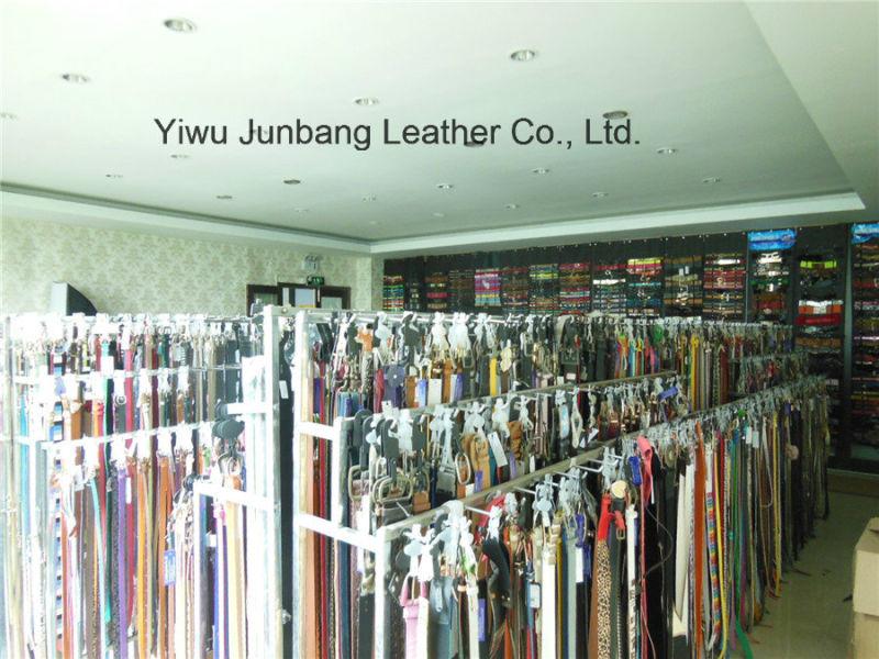 Hot Sell Split Leather Punching Belt for Women