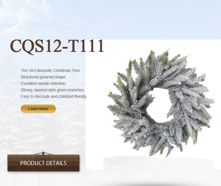 H30-H48cm Wedding and Christmas Wreaths for Home&Holiday Decoration From Factory