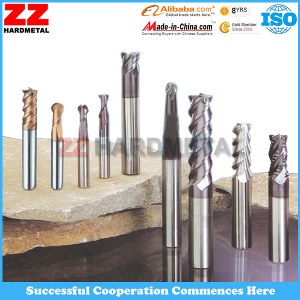Tungsten Carbide Coated Endmills for General Metal Machining