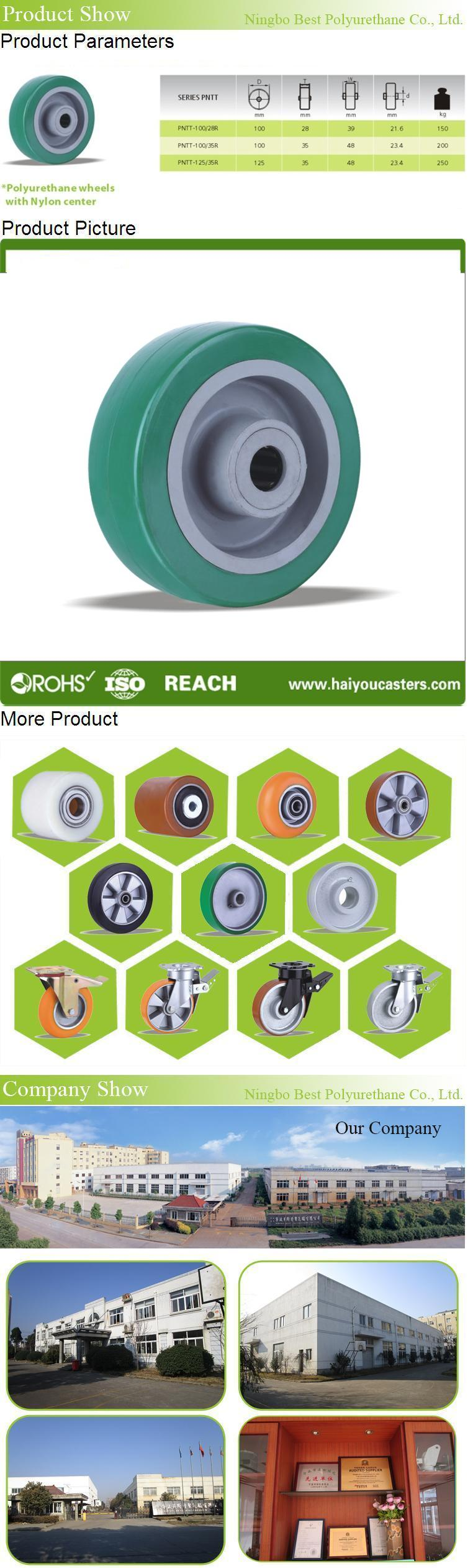 Factory Price Polyurethane Wheels with PP Centre