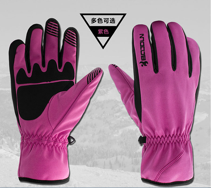 Adult Touch Screen Insulate Ski Gloves