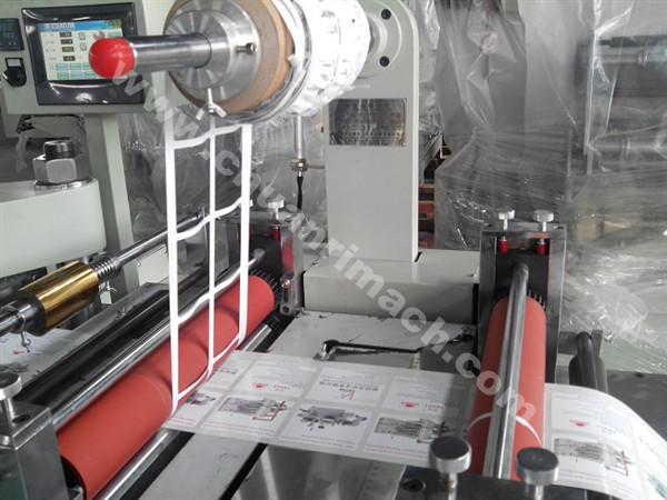 Printed Label Hot Stamping Die Cutting Machine