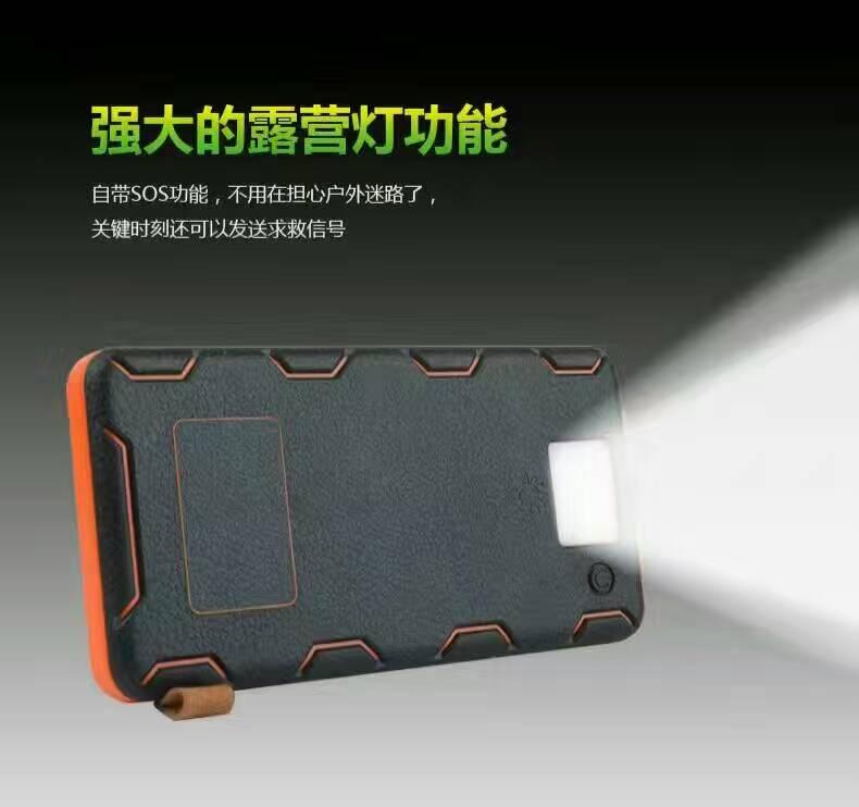 2017 Markets 4 Foldable Solar Mobile Phone Power Bank