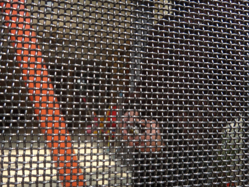 0.9mm X 11 Mesh Stainless Steel Bullet Proof Security Window Screen