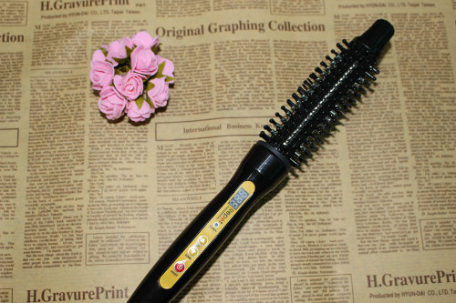 2 in 1 Rotating Electric Hair Straightening and Hair Curling Comb