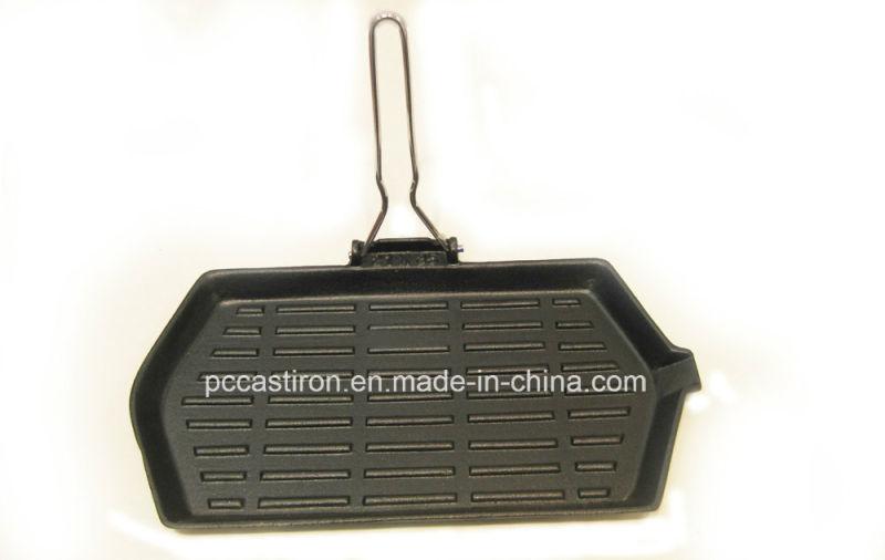 Preseasoned Cast Iron Fajita Sizzler Dia 27cm