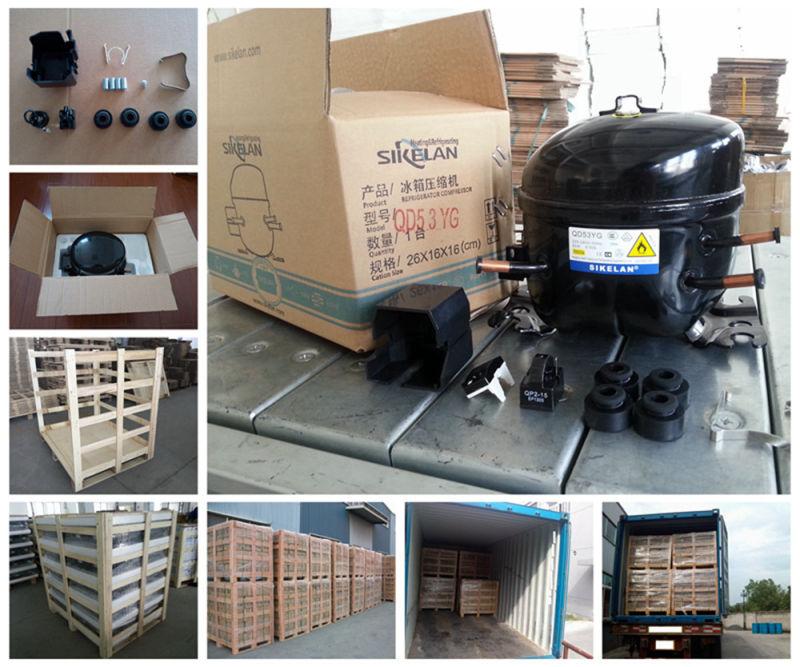 Light Commercial Refrigeration Compressor Gqr12tg Mbp Hbp R134A Showcase Compressor 220V