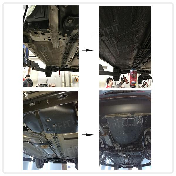 Car Underbody Coating Water Based Rubberized Undercoat