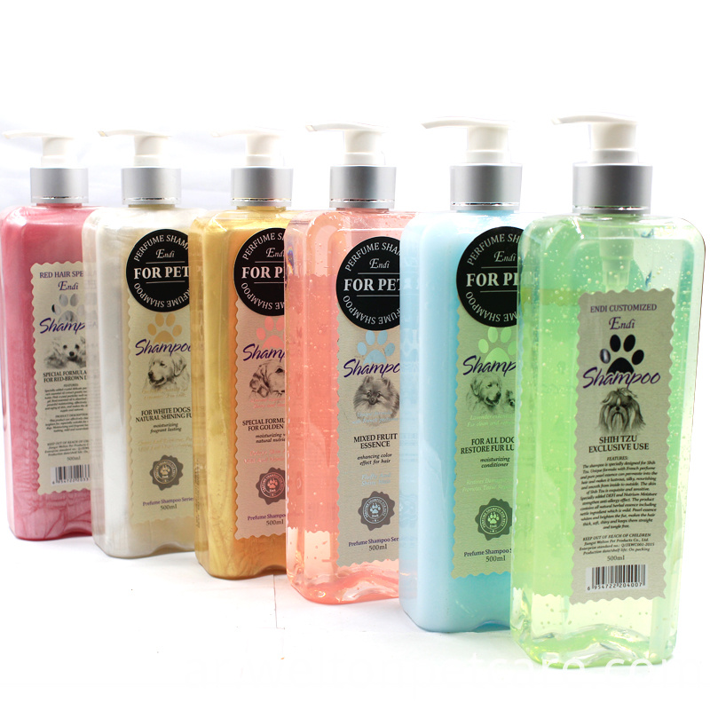 ENDI soft hair dog shampoo pet