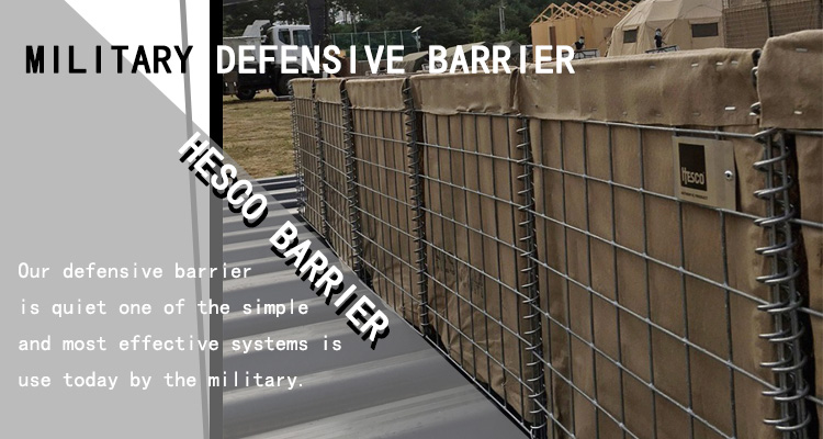 Anping Top10 galvanized hesco welded mesh gabion barrier