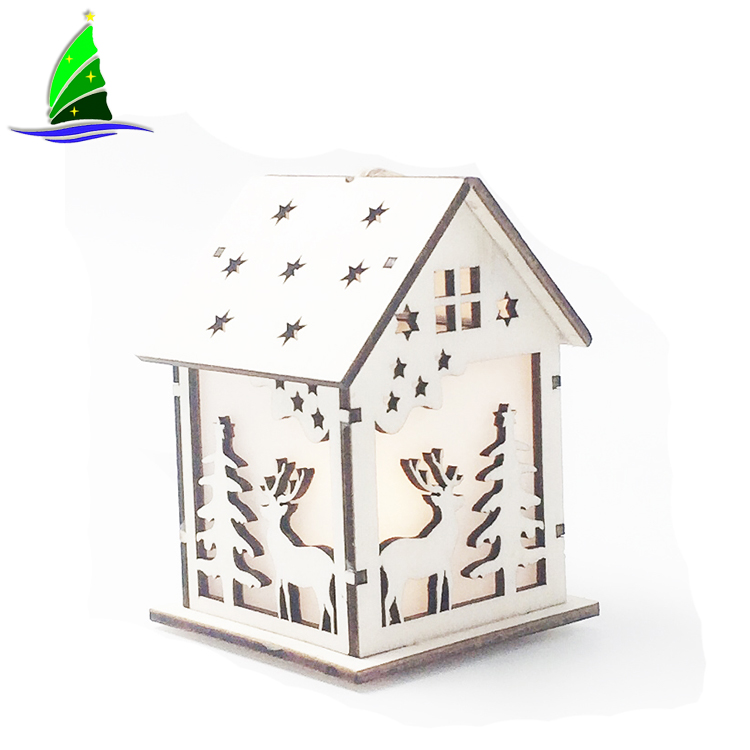 Decoration Wooden Dolls House Villa