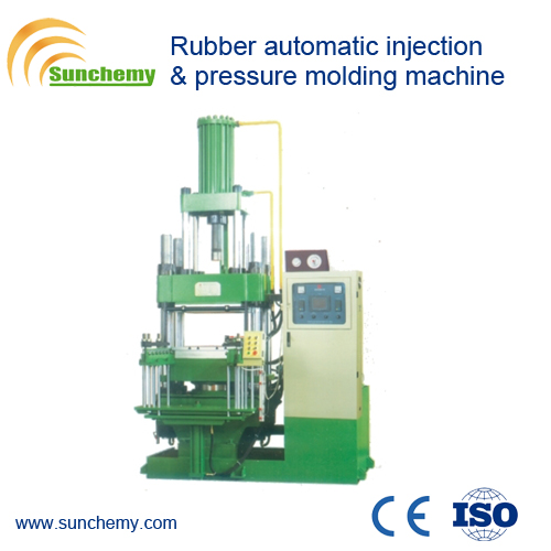 Rubber Automatic Injection and Pressure Molding Vulcanizer/Press