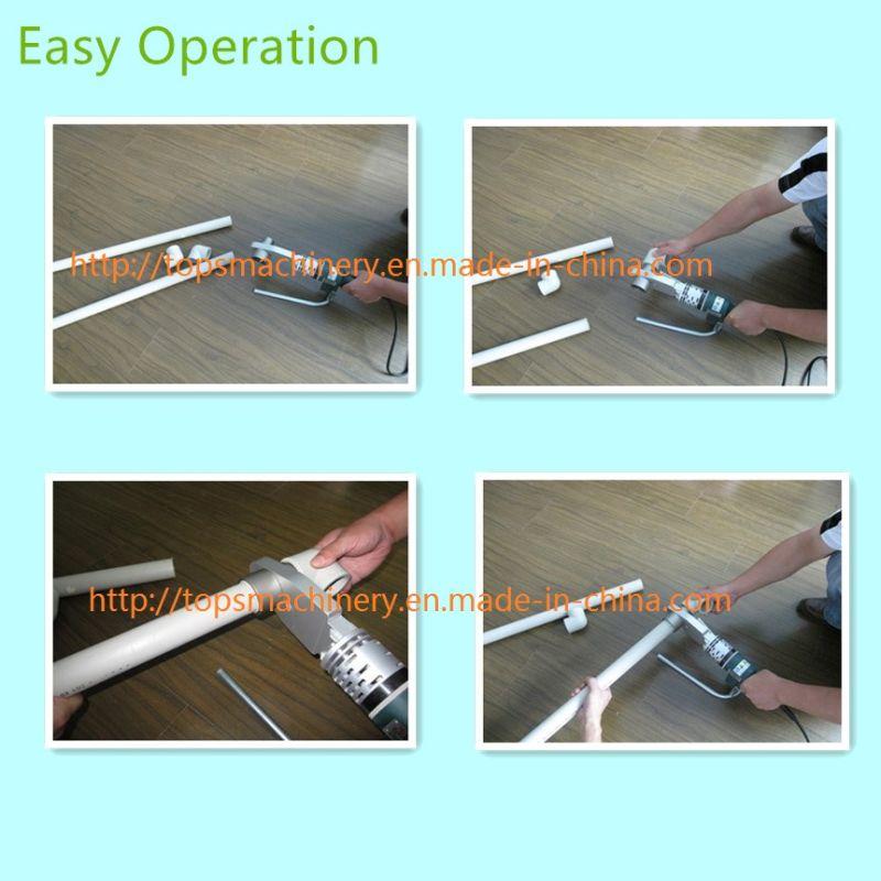 CE Approved PPR Pipe / Tube Socket Heat Fusion Welding Machine / Welder
