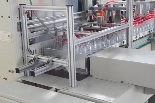 St6040al Full-Auto Bottle Sleeve Shrink Bundler Shrink Wrapping Machine
