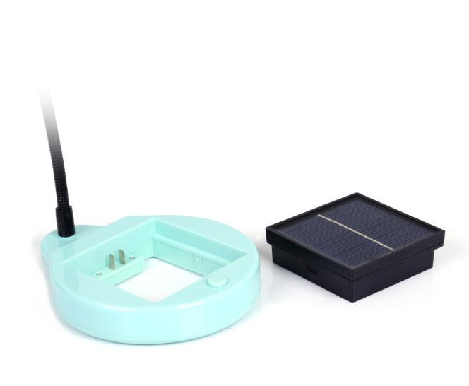 Battery Removeable Solar Desk Table Reading Light Lamp