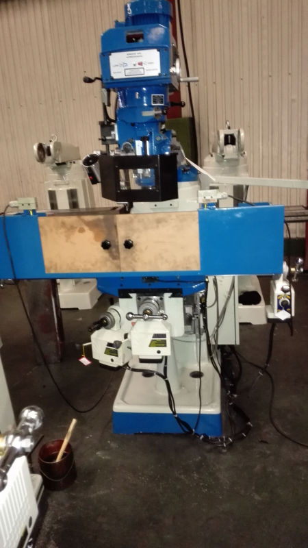 Turret Milling Machine Mf1