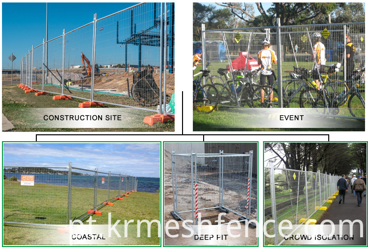 hot-dipped temporary fence panel removable fence