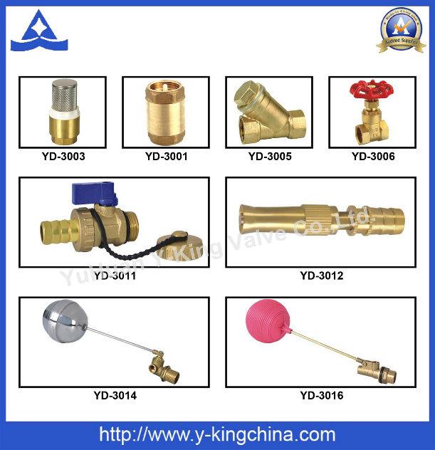 Forged Female Brass Three Tee (YD-6033)