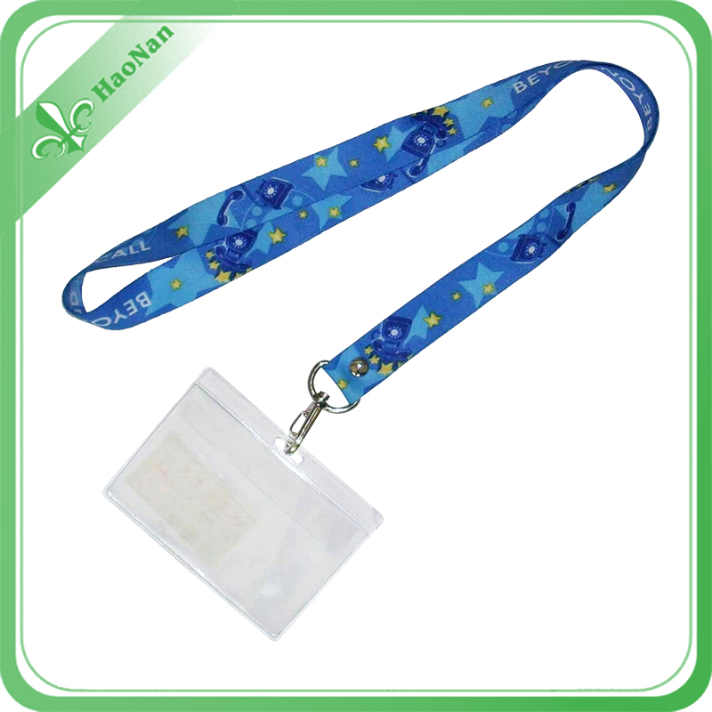 2016 Best Price Sublimated Lanyard with Card Holder for Christmas
