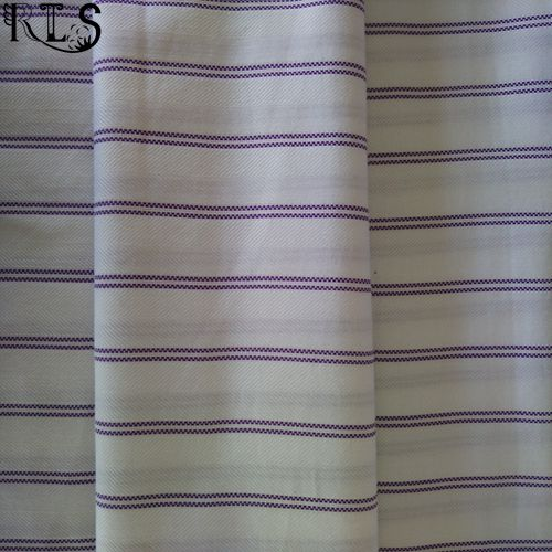 Cotton Poplin Woven Yarn Dyed Fabric for Garments Shirts/Dress Rls50-1po