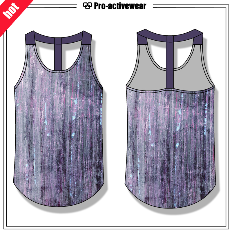 Wholesale Women Breathable Fitness Gym Tank Top