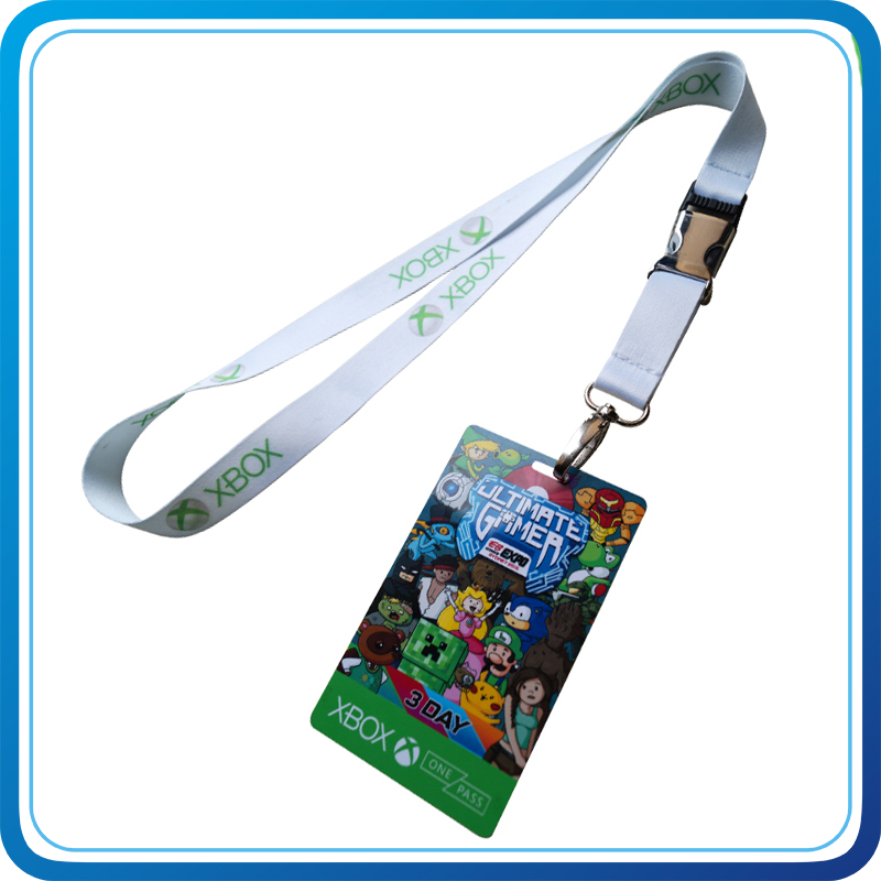 Printing Cheap Price ID Card Holder Lanyard with Your Style