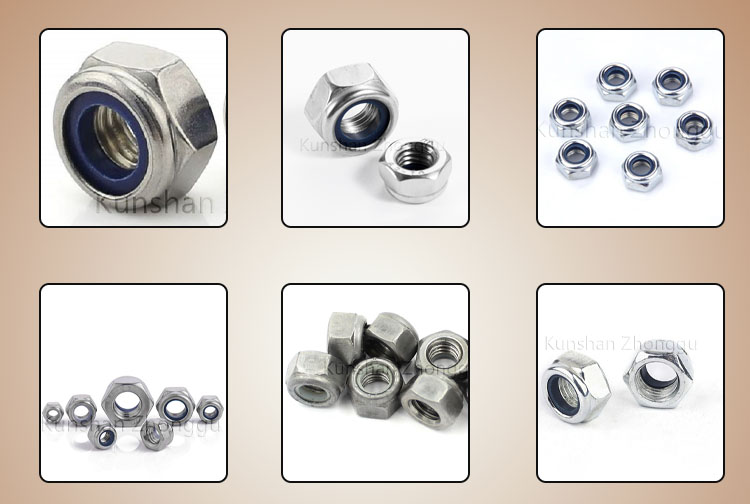 Carbon steel nylon nuts
