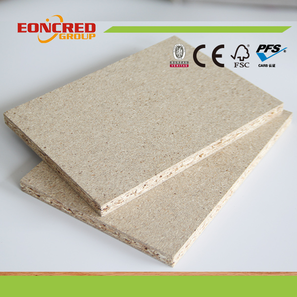 9mm-50mm Plain Particle Board Chipboard Melamine Laminated Particle Board
