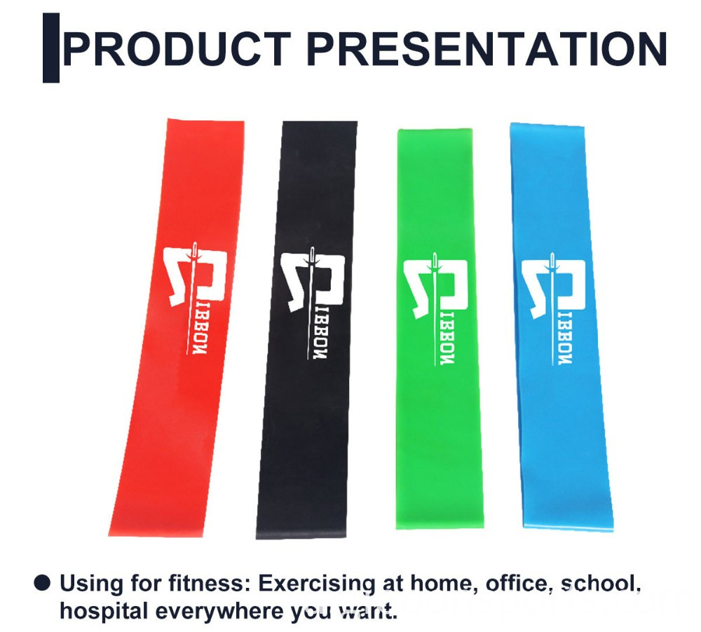 customs printed resistance bands