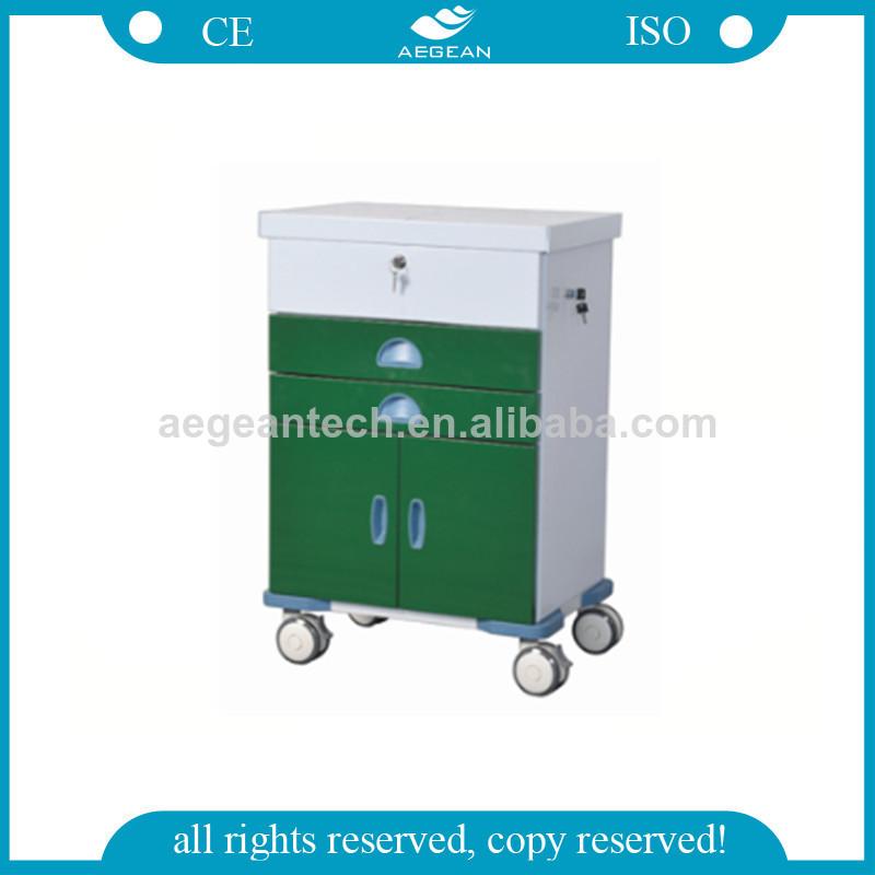 AG-GS004 New Design Dark Green Power Coating Tool Trolley