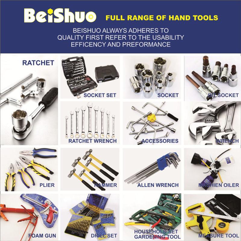 218PCS Cr-V Household Socket Set for Hand Tools