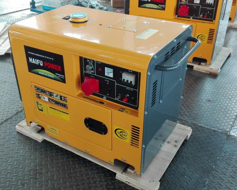 5kw 5kVA Portable Silent Diesel Power Generator