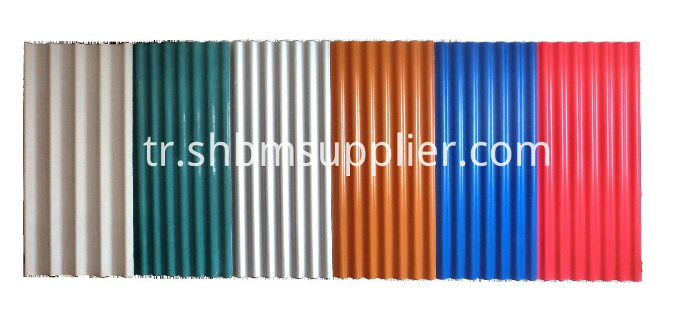 Heat-Insulating MgO Glazed Roofing sheet